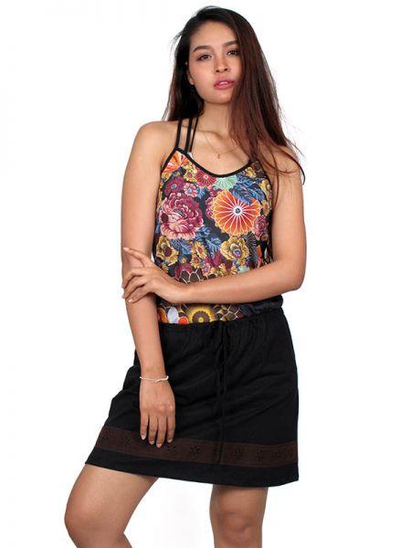 Vestido hippie étnico estampado [VEUN80] para Comprar al mayor o detalle