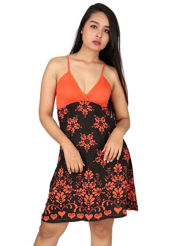 Vestido estampado flores [VEUN91] para Comprar al mayor o detalle