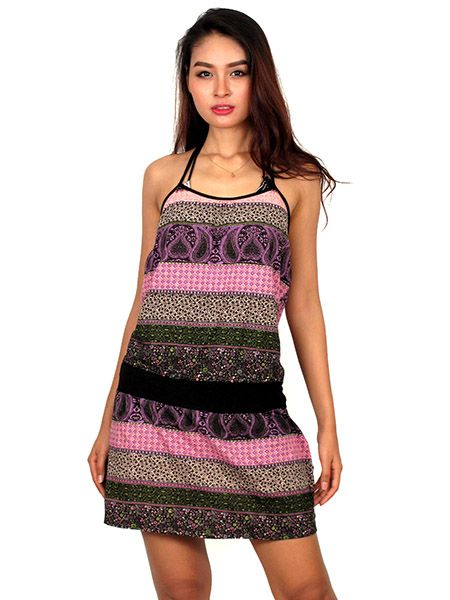 Vestido Estampado Étnico Colores Comprar - Venta Mayorista y detalle