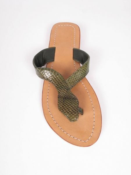 Sandalia Flip flop, suela sintética, planta de piel empeine Comprar - Venta Mayorista y detalle