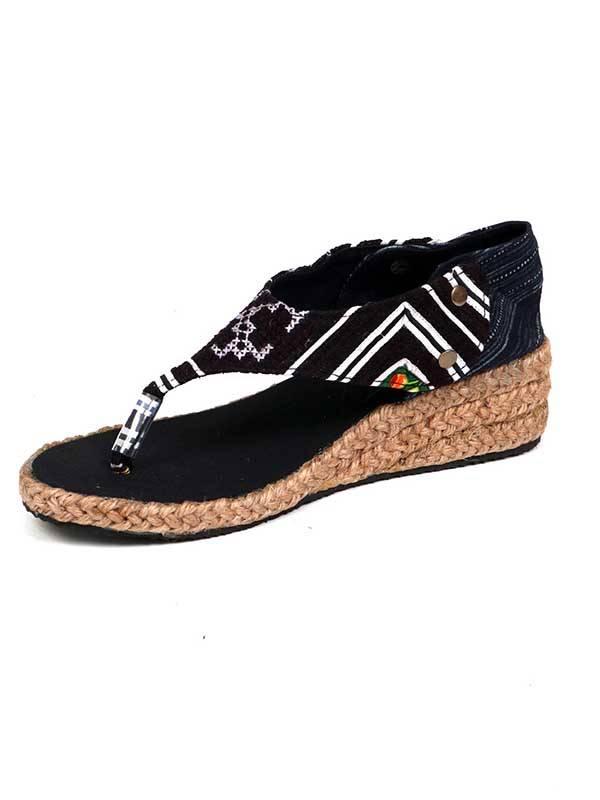 Sandalia Hmong de Cuña Abierta [ZNN02] para comprar al por Mayor o Detalle en la categoría de Sandalias y Zuecos