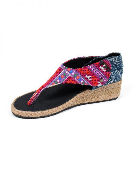 Sandalias Zapatos Zuecos - Sandalia etnica de cuña abierta [ZNN02] para comprar al por mayor o detalle  en la categoría de Sandalias Hippies Étnicas.