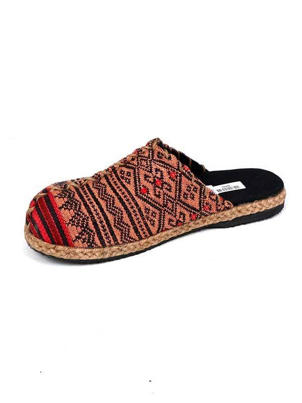Hippies Sandals and Clogs - Ethnic Loom and hemp clog. ZNN08 to buy Wholesale or Detail in the category of Ethnic Hippie Sandals