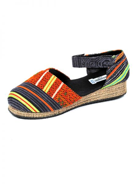 Sandalias Zapatos Zuecos - Zapato estilo menorquina étnica [ZNN11B] para comprar al por mayor o detalle  en la categoría de Sandalias Hippies Étnicas.