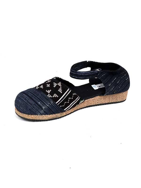 Zapato estilo menorquina étnica - Negro 20 Comprar al mayor o detalle