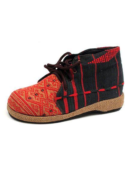 Sandalias Zapatos Zuecos - Bota telas etnica Tribus hmong [ZNN12] para comprar al por mayor o detalle  en la categoría de Sandalias Hippies Étnicas.
