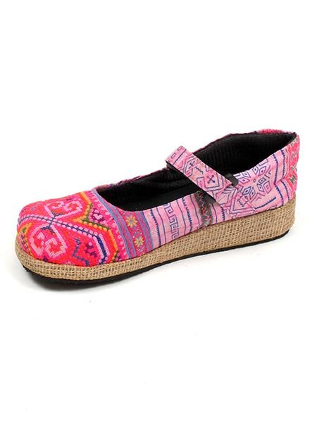 Zapato abierto punta redonda étnica - Comprar al Mayor o Detalle