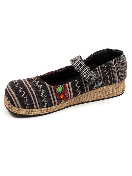 Zapato abierto punta redonda étnica Comprar - Venta Mayorista y detalle