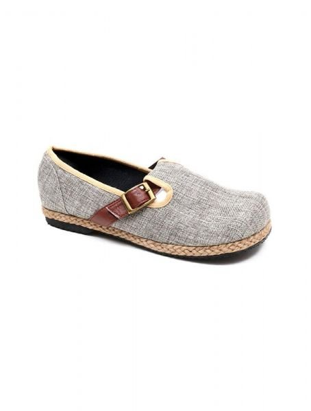 Zapato étnico liso con hebilla [ZNN15] para Comprar al mayor o detalle