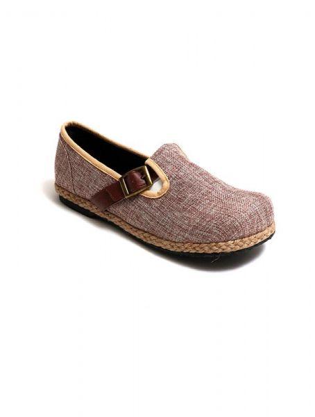 Sandalias Zapatos Zuecos - Zapato étnico liso con hebilla [ZNN15] para comprar al por mayor o detalle  en la categoría de Sandalias Hippies Étnicas.