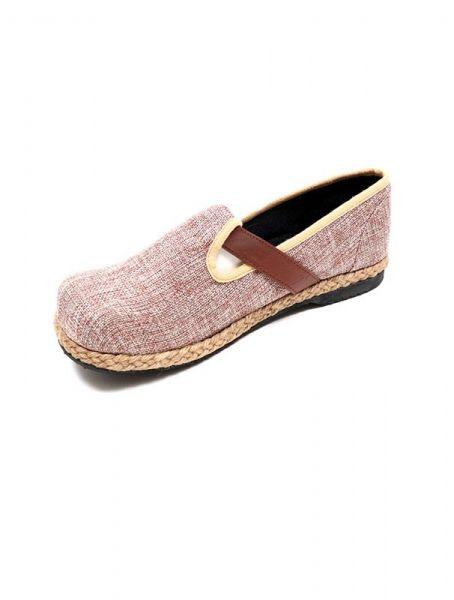 Zapato étnico liso con hebilla [ZNN15]. Sandalias Zapatos Zuecos para comprar al por mayor o detalle  en la categoría de Sandalias Hippies Étnicas.