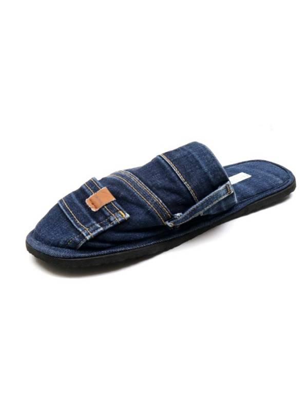 Zapatillas Vaqueras de Jeans Reciclados [ZSMI01] para comprar al por Mayor o Detalle en la categoría de Sandalias y Zuecos