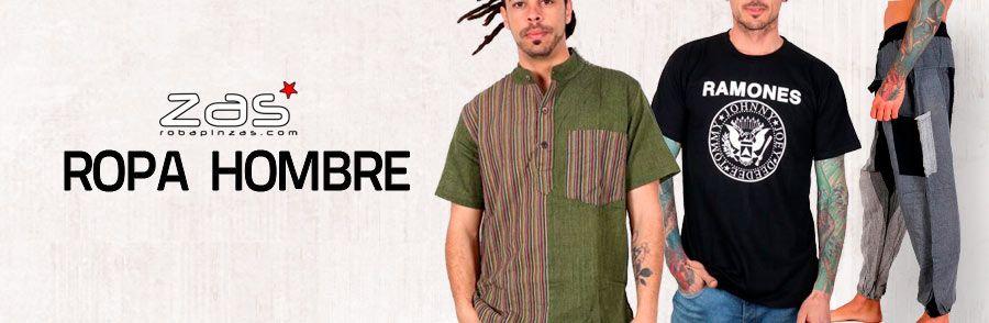 Hippie et vêtements alternatifs pour hommes | Magasin ZAS Hippie