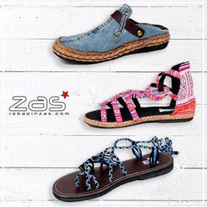 Calzado Hippie para Hombre y Mujer | ZAS Tienda Hippie para comprar al por mayor o detalle
