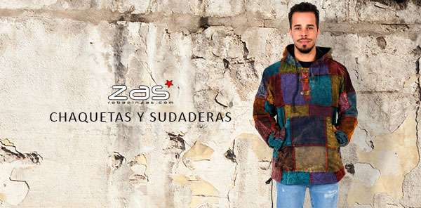 Hippie Hoodies and Coats for Men | ZAS to buy wholesale or detail