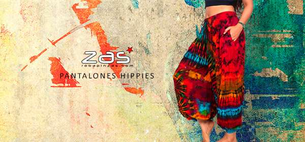Hippie Harem Pants for Girl | ZAS. Buy original hippie clothing and accessories