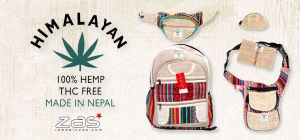 Hemp bags. Backpacks and Waist Packs | ZAS to buy wholesale or detail
