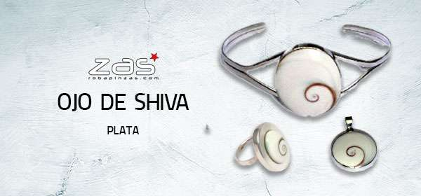 Eye of Shiva Silver | ZAS Hippie Shop to buy wholesale or detail