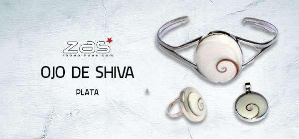 Ojo de Shiva Plata | ZAS Tienda Hippie para comprar al por mayor o detalle