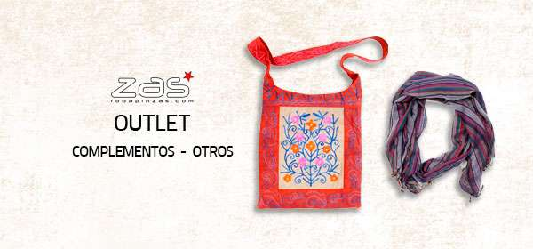 Outlet de Complementos hippies alternativos | ZAS para comprar al por mayor o detalle