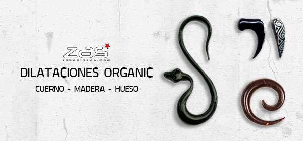 Dilataciones Orgánicas | ZAS Tienda Hippie para comprar al por mayor o detalle